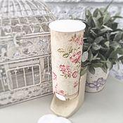 Для дома и интерьера handmade. Livemaster - original item Stand for cotton pads. Handmade.
