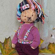 Куклы и игрушки ручной работы. Ярмарка Мастеров - ручная работа Мишка Тедди Питер. Handmade.