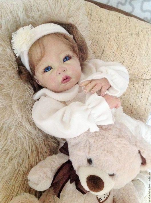 Куклы-младенцы и reborn ручной работы. Ярмарка Мастеров - ручная работа. Купить Кукла-реборн Амели.. Handmade. Белый