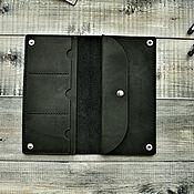 Сумки и аксессуары handmade. Livemaster - original item Leather purse. Handmade.