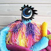 Мягкие игрушки ручной работы. Ярмарка Мастеров - ручная работа Мягкая игрушка Жужа. Handmade.