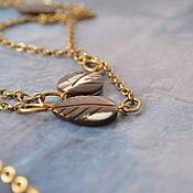 Украшения handmade. Livemaster - original item With pendant mother of pearl Style. Handmade.