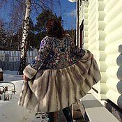 """Одежда ручной работы. Ярмарка Мастеров - ручная работа Зимнее пальто """" Снежинка"""".. Handmade."""