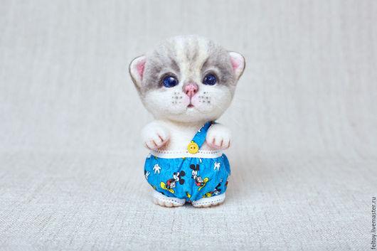 `Тоша` - котенок из натуральной шерсти