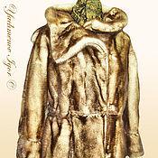 Одежда ручной работы. Ярмарка Мастеров - ручная работа Шуба из меха норки.. Handmade.
