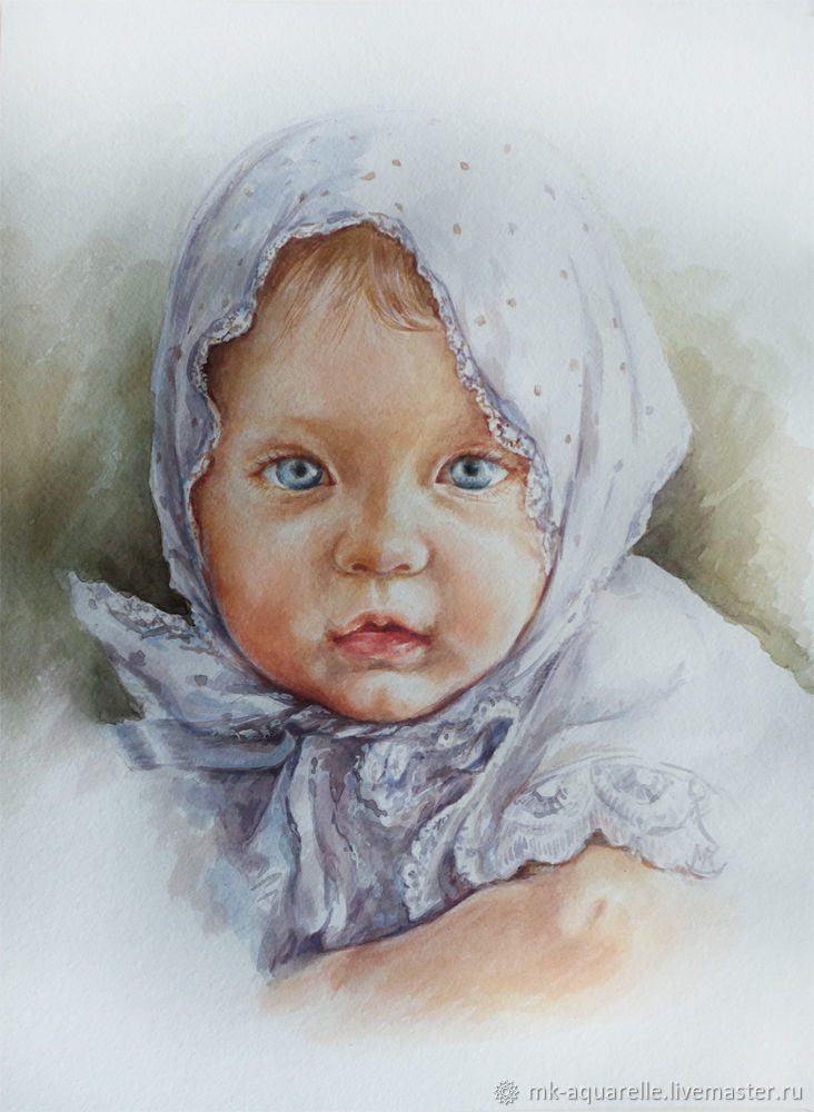 Portrait of a little girl, Pictures, Serebryanye Prudy,  Фото №1