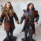Куклы и игрушки handmade. Livemaster - original item Portrait doll of the dwarves Fili and Kili. Handmade.