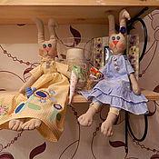 Куклы и игрушки ручной работы. Ярмарка Мастеров - ручная работа Романтичная зая. Handmade.