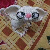 Мягкие игрушки ручной работы. Ярмарка Мастеров - ручная работа Кошка Ябеда. Handmade.
