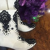Обувь ручной работы handmade. Livemaster - original item Ankle boots for women, handmade. Handmade.