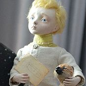 Куклы и игрушки ручной работы. Ярмарка Мастеров - ручная работа Маленький принц для Светланы. Handmade.
