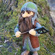 Куклы и игрушки ручной работы. Ярмарка Мастеров - ручная работа Кукла войлочная, Гном Гимли. Handmade.