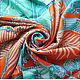 """Шали, палантины ручной работы. Платок из натурального шёлка """"Драгоценные Украшения"""" Hermes. Lady AKT. Интернет-магазин Ярмарка Мастеров."""