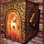 """Для дома и интерьера ручной работы. Ярмарка Мастеров - ручная работа Короб """"Ева"""". Handmade."""
