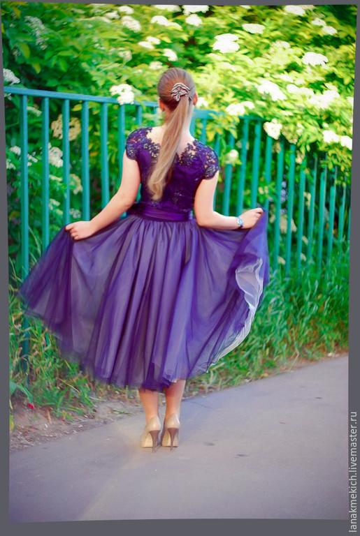 Пышная юбка из фатина для взрослых