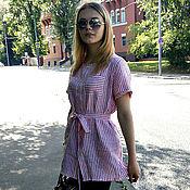 Одежда ручной работы. Ярмарка Мастеров - ручная работа Рубашка женская. Handmade.