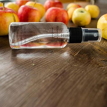 Косметика ручной работы. Ярмарка Мастеров - ручная работа Яблочный тоник для увядающей кожи. Handmade.