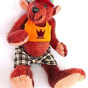 """Куклы и игрушки ручной работы. Ярмарка Мастеров - ручная работа Медведь """"Жизнь удалась!"""". Handmade."""