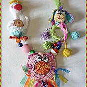 """Одежда ручной работы. Ярмарка Мастеров - ручная работа Слингобусы с игрушкой """"Домашние  животные"""". Handmade."""