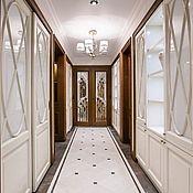 Для дома и интерьера ручной работы. Ярмарка Мастеров - ручная работа шкафы, двери Белые лилии. Handmade.