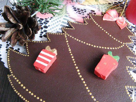 Новый год 2017 ручной работы. Ярмарка Мастеров - ручная работа. Купить Новогодние арома подвески украшения Новогодние елочки. Handmade.
