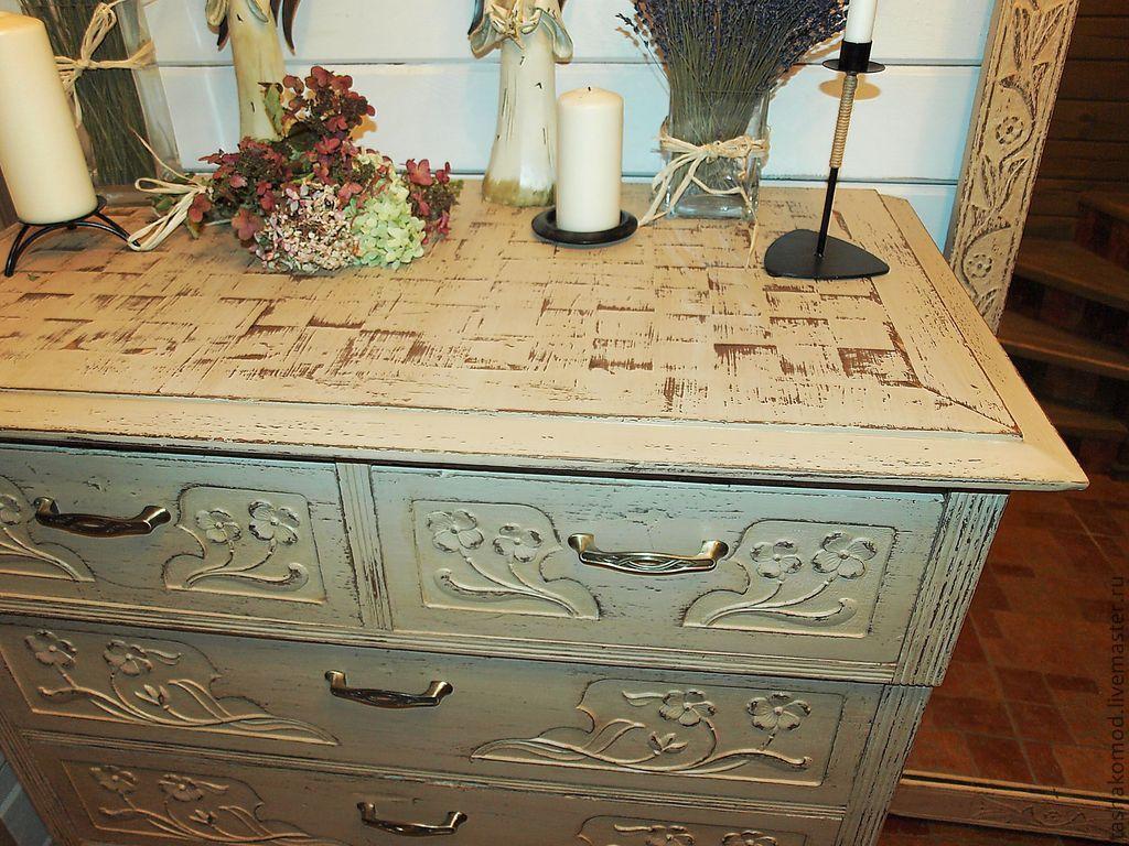 Реставрируем старую мебель в стиле прованс