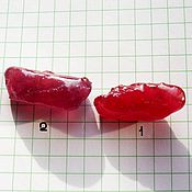 Материалы для творчества ручной работы. Ярмарка Мастеров - ручная работа СКИДКА 50%Рубины крупные натуральные в ассортименте. Handmade.