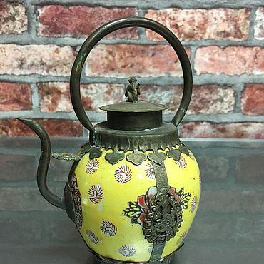 Посуда ручной работы. Ярмарка Мастеров - ручная работа Антикварный чайник. Китай. Handmade.