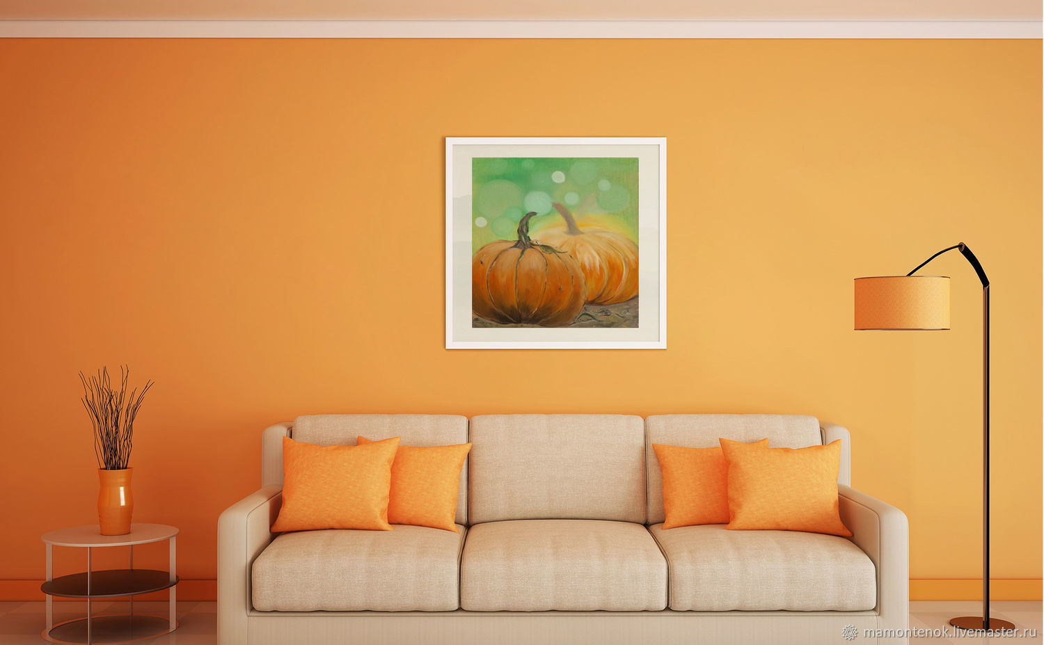 Oil painting ' Entertaining autumn', Pictures, Moscow,  Фото №1