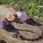 """Украшения ручной работы. Ярмарка Мастеров - ручная работа Колье """"Wild stones"""". Handmade."""