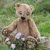"""Куклы и игрушки ручной работы. Ярмарка Мастеров - ручная работа Мишки Тедди - """"Осенние цветы"""". Handmade."""
