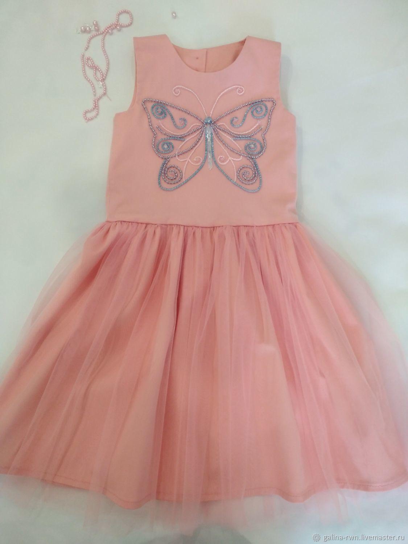 платье нарядное, коктейльное с вышивкой, Платья, Рязань,  Фото №1