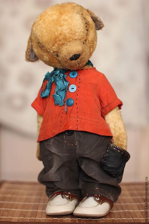 Мишки Тедди ручной работы. Ярмарка Мастеров - ручная работа. Купить Бонни.. Handmade. Желтый, тедди мишка, винтажная фурнитура