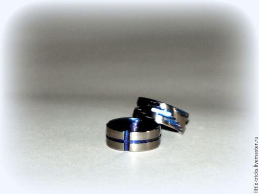 Кольца ручной работы. Ярмарка Мастеров - ручная работа. Купить Кольца Suomi №1, №2  (анодированный титан). Handmade.