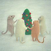 """Куклы и игрушки ручной работы. Ярмарка Мастеров - ручная работа """"Мышки водят хоровод"""".. Handmade."""