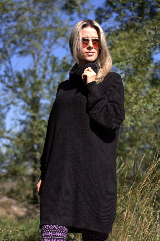 Платья ручной работы. Ярмарка Мастеров - ручная работа. Купить Отражение осени- вязаное платье и леггинсы, купить вязаный костюм. Handmade.