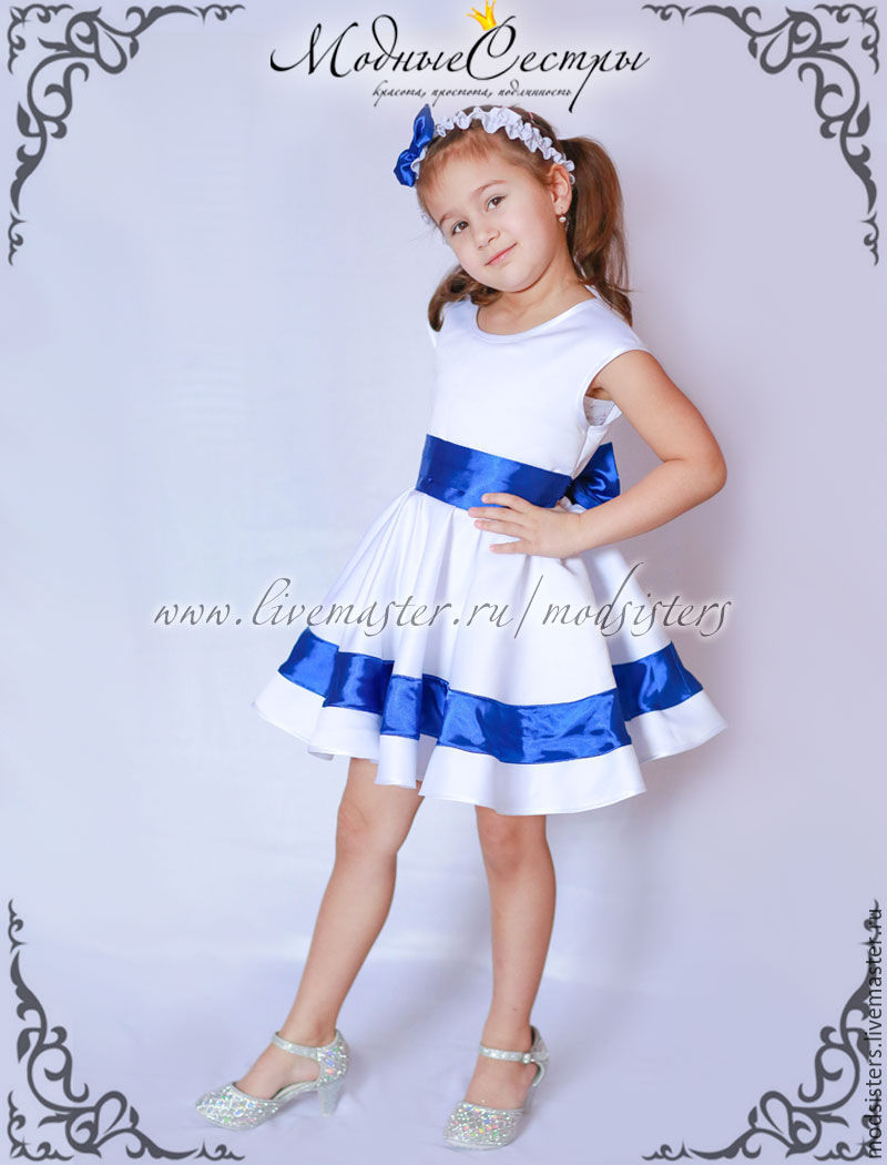 Baby Dress Blue Tape 2in1 Art 433 Shop Online On Livemaster With