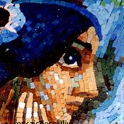 Картины и панно ручной работы. Ярмарка Мастеров - ручная работа Жемчужина, смальта. Handmade.