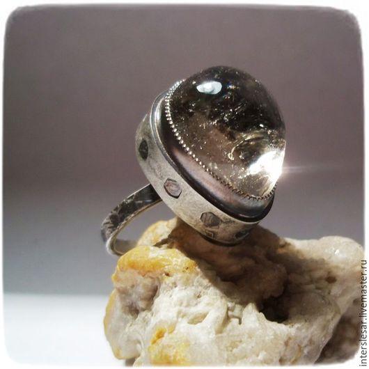 """Кольца ручной работы. Ярмарка Мастеров - ручная работа. Купить Кварц кольцо """"Дикий мёд"""". Handmade. Дымчатый кварц, самоцветы"""