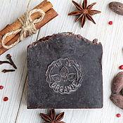 Мыло ручной работы. Ярмарка Мастеров - ручная работа Мыло с нуля Пряный Шоколад. Шоколадное мыло. Handmade.