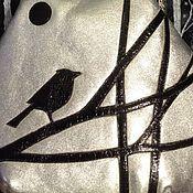 Сумки и аксессуары ручной работы. Ярмарка Мастеров - ручная работа Птица на ветке. Handmade.