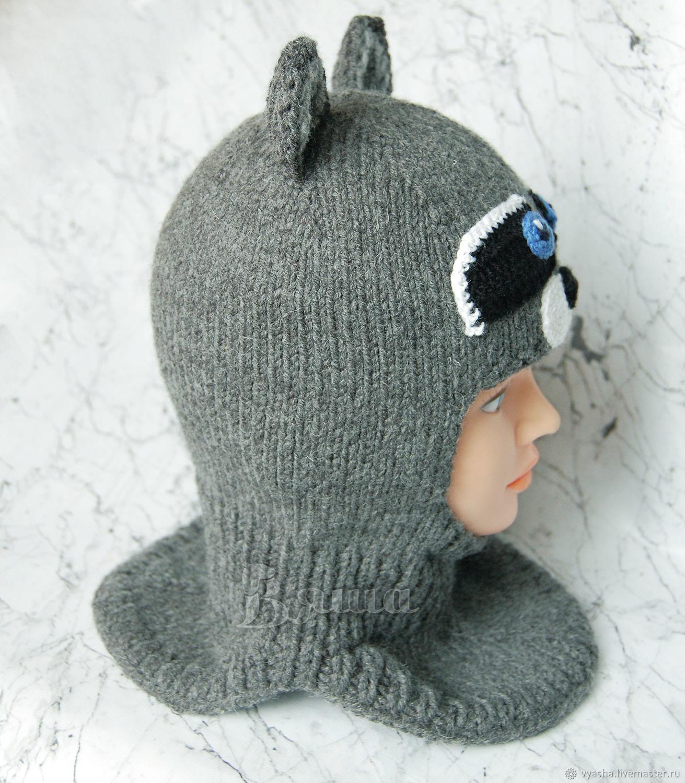 Вязание зимних шапок шлем