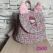Рюкзаки ручной работы. Ярмарка Мастеров - ручная работа Детский рюкзачок для маленькой модницы. Handmade.