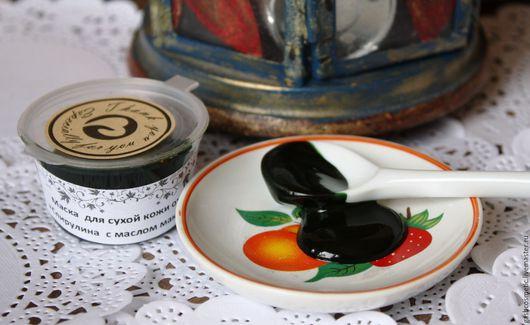 Маска для лица `Спирулина с маслом макадамии`. Для любого типа кожи