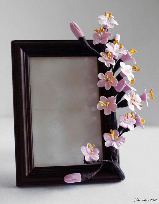 Интерьерные композиции ручной работы. Ярмарка Мастеров - ручная работа. Купить Рамочка для фото. Handmade.