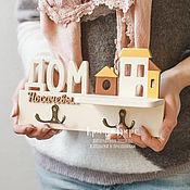 Для дома и интерьера ручной работы. Ярмарка Мастеров - ручная работа Ключница. Ключница настенная. Handmade.