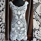 """Одежда ручной работы. Ярмарка Мастеров - ручная работа кружевное платье """"цветы магнолии"""". Handmade."""