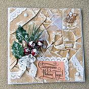 """Открытки ручной работы. Ярмарка Мастеров - ручная работа открытка """"Сказочного Нового года"""". Handmade."""