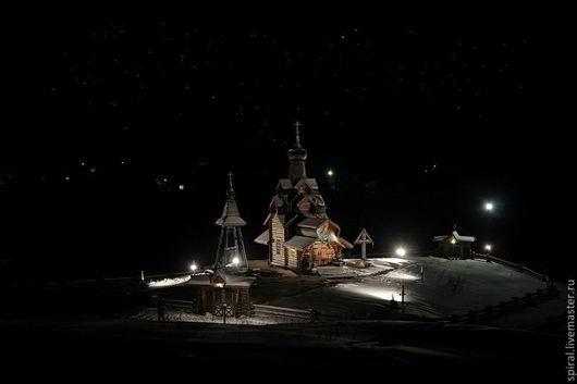 """Фотокартины ручной работы. Ярмарка Мастеров - ручная работа. Купить пейзаж в фотографии """"Ночь перед рождеством"""". Handmade. Фотография, пейзаж"""