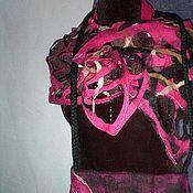 Аксессуары ручной работы. Ярмарка Мастеров - ручная работа Комплект сумка+шарф.. Handmade.